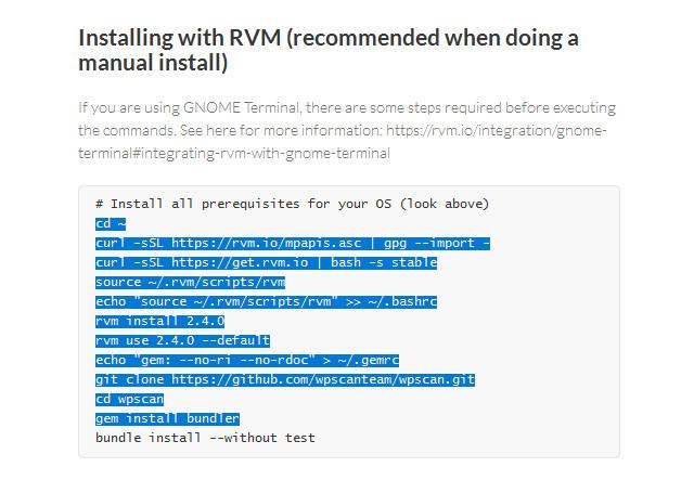 Установка RVM