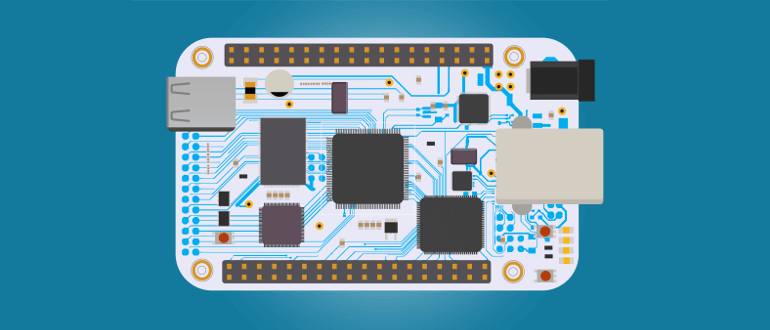 Отладочная плата микроконтроллера