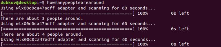 Результат сканирования